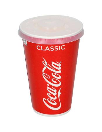 Låg t/Cola Drikkebæger 30cl 20x100stk/kar -