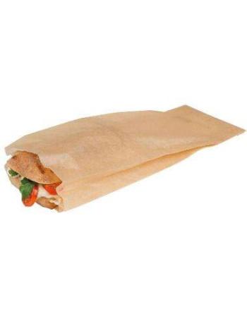 Sandwichpose 105x310 mm til Ovn Papir Brun krt.