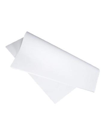 Stikdug hvid m/præg 80x80cm 90g 250stk/pak -