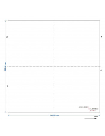 Servietter med tryk 33x33cm 1-lags