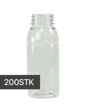 Flaske Bobby u/skruelåg Transparent