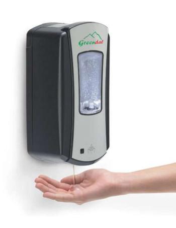 Dispenser hånddesinfektion berøringsfri til 700ml sort