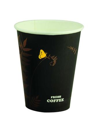 Kaffebæger HotCup Sort 230-480ml 20x50stk/kar