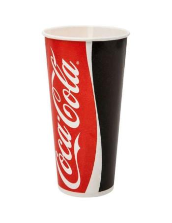 Drikkebægre Coca Cola Pap 300-500ml -