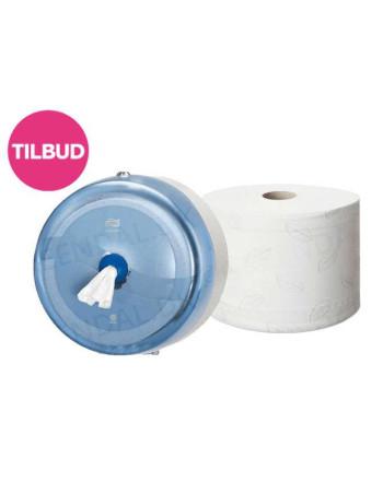 Dispenser Tork toiletpapir SmartOne T8 Hvid