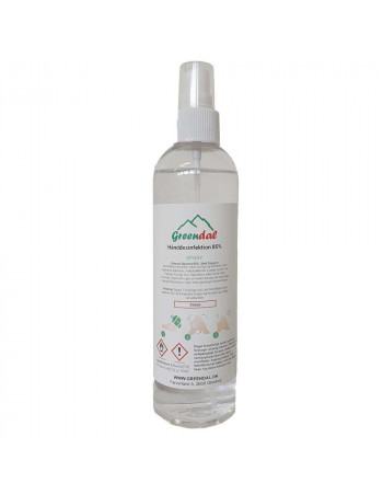 Hånddesinfektion 85%  Spray  250ml/stk