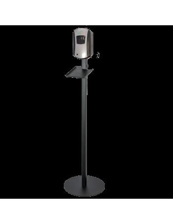 copy of Purell stander til dispenser m/monteringsplade sort