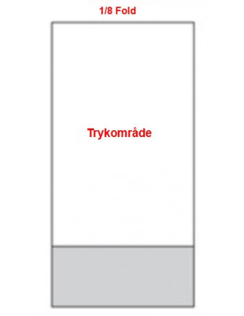 Servietter med tryk 1/8 40x40cm 3-lags