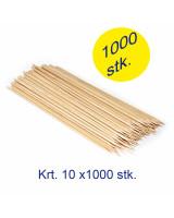 GrillSpyd bambus 20cm 10x1000stk/kar -
