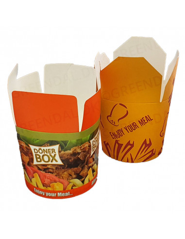 Kebabbox (Take Away) 700ml 5x100stk/kar -
