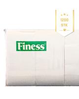 Serviet 33x33cm Finess 2-lags 1/8 fold 4x300stk/kar -