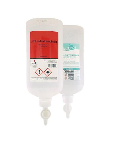 Hånddesinfektion 85% +5% klorhexidin Combiplum tråd 1l -