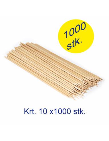Grillspyd 150mm Ø3mm bambus 10x1000stk/kar -