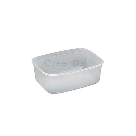 Plastbakke (28) 500ml 50stk/ps
