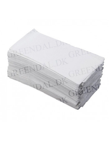 Dispenserserviet Art Novafold 33x32cm hvid pr/1000stk -