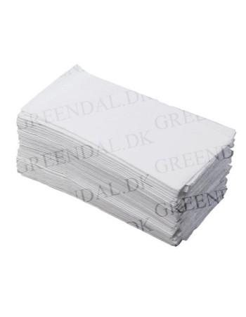 Serviet t/Dispenser Novafold 33x33cm 1-lags hvid 8x500stk/kar