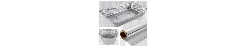 Aluminium emballage - staniol, alufade og aluforme engros