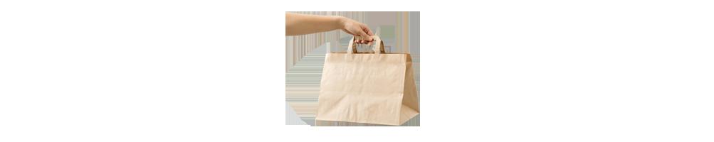 Bæreposer Papir - Papirposer i mange størrelser. Billige...