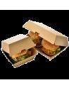 Burger indpakning