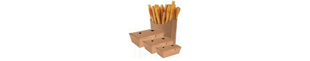 Pommes Frites Emballage - Fastfood emballage Pommes...