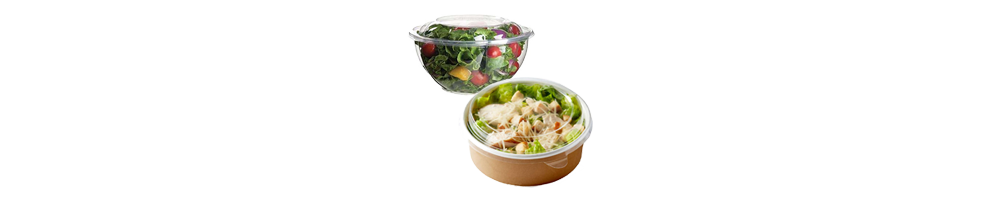 Salat & Delibakker - Vi har et bredt sortiment af plastbakker...
