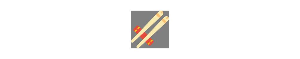 Bambusartikler - Vi har japanske og kinesiske spisepinde i...