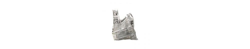 Bæreposer  Plastik - Vi har Plastikposer til din take away...