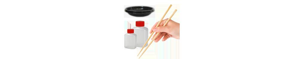 Sushi tilbehør I Køb billigt online I Spisepinde, Sushi bakker, Bæger