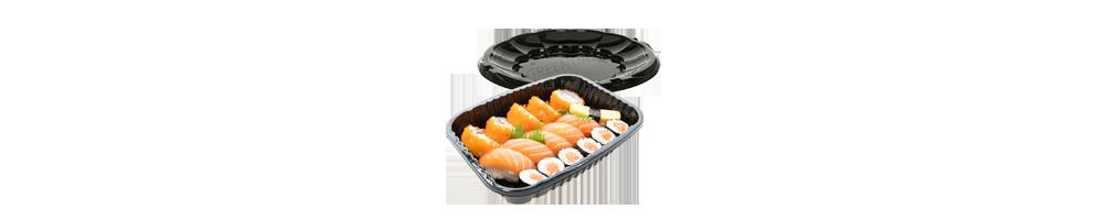 Sushibakker - Vi har sushiforme og -fade i forskellige former...