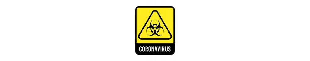 ANTI COVID - 19 - Ny coronavirus spreder sig typisk på steder...